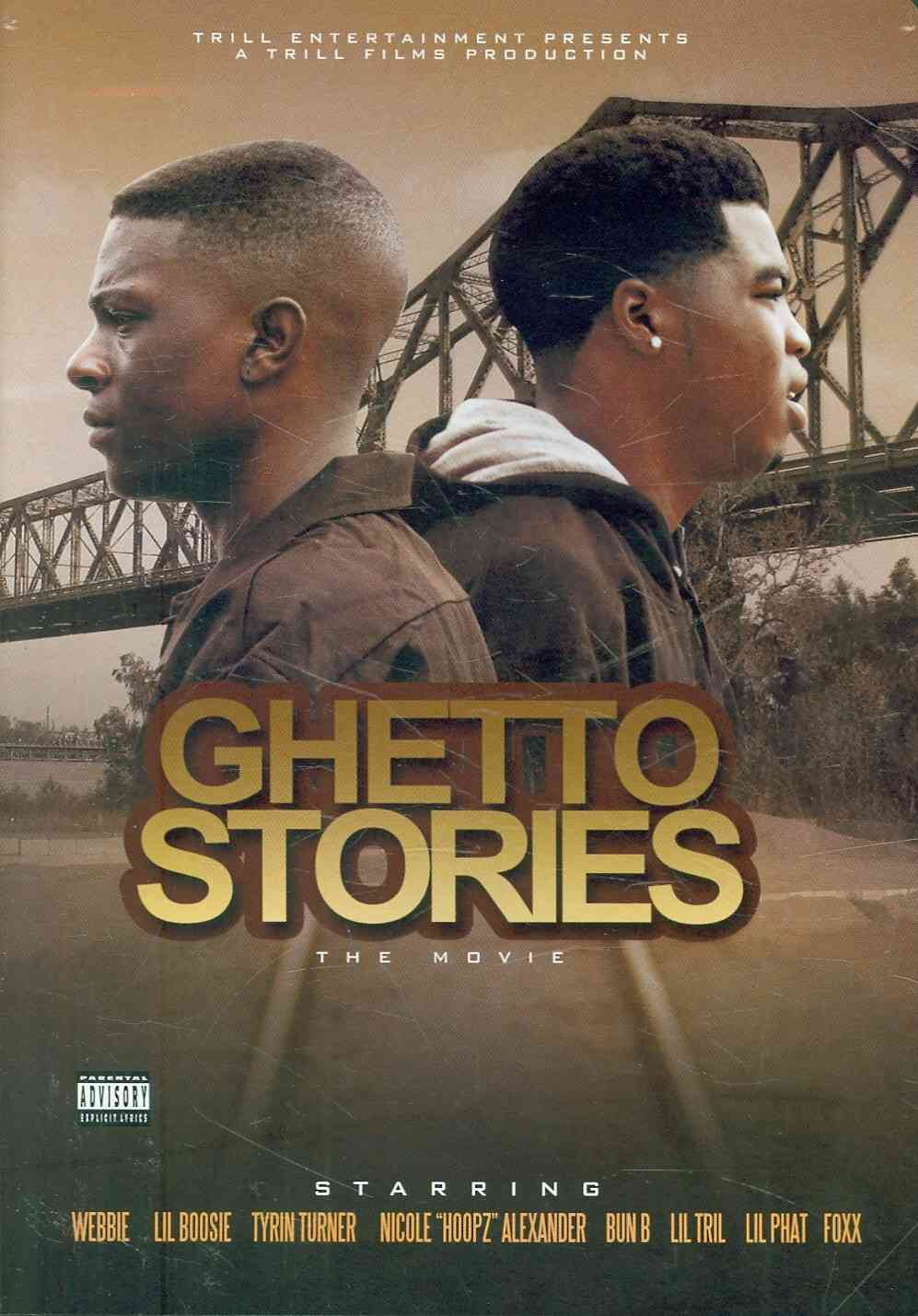 GHETTO STORIES:MOVIE BY LIL BOOSIE (DVD)