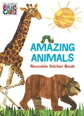 Amazing Animals Reusable Sticker Book By Carbone, Courtney